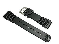 SEIKO Seiko Genuine Divers Urethane Rubber Watch Band DAL0BP 22mm
