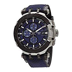 Tissot T-Race MotoGP Chronograph Automatic Blue Dial Men's Watch T1154272704100