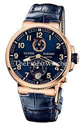 Ulysse Nardin Marine Chronometer Manufacture 43mm Solid 18K Rose Gold Watch 1186-126/63