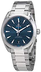 Omega Seamaster Aqua Terra Blue Dial Automatic Mens Watch 220.10.41.21.03.001