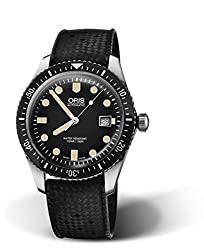 Oris Divers Sixty-Five Black Dial Automatic Men's Rubber 01 733 7720 4054-07 4 21 18