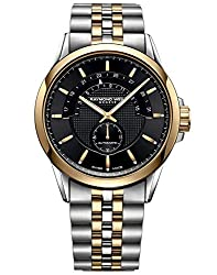 Raymond Weil Freelancer Men's Half-Moon Two-Tone Automatic Watch 2738-STP-20001