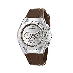TechnoMarine Unisex 110068 Cruise Original Mirror Chronograph Mirror Dial Watch